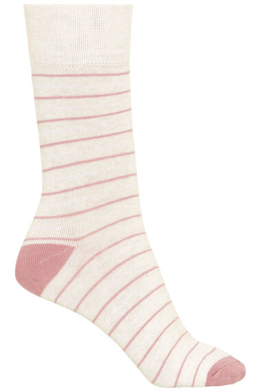 3 Pack Butterfly Printed Sock