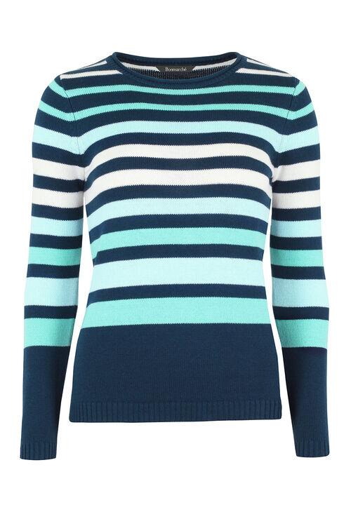 Stripe Cotton Jumper
