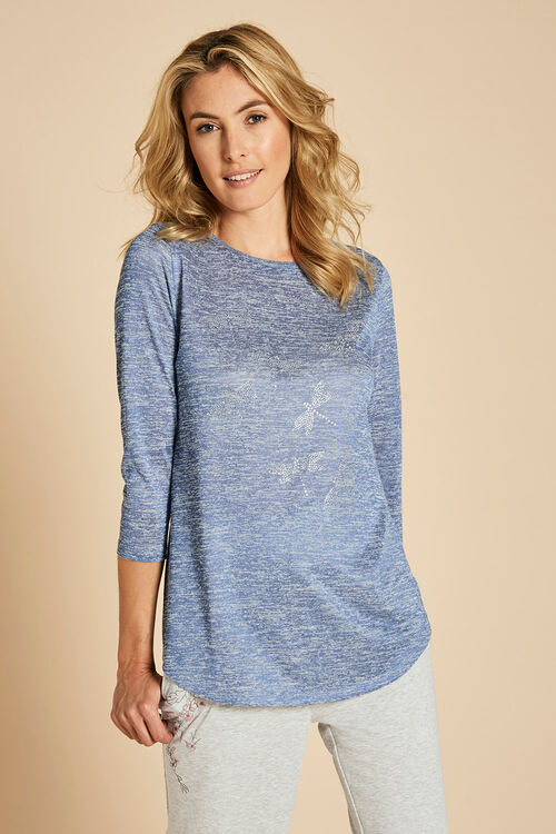 Dragonfly Diamante Sweater