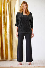Ann Harvey Heavy Jersey Crepe Parallel Trousers