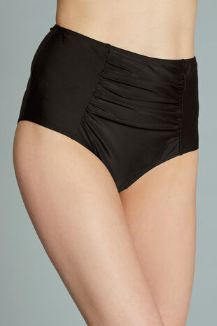 High Waist Tummy Control Swim Briefs