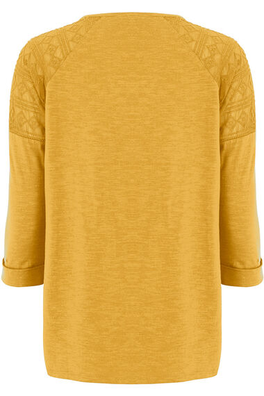 Button Front Jersey Top