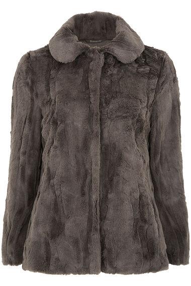Faux Fur Jacket