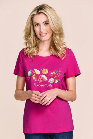 Fruit Print T-Shirt