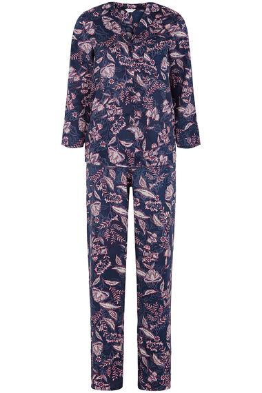 Satin Floral Pyjamas