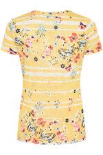 Print & Stripe T-Shirt