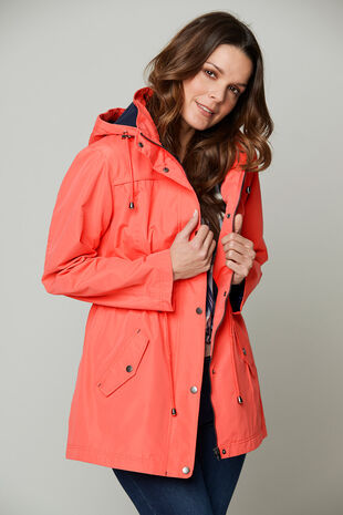 Waterproof Coat with Fleece Lining