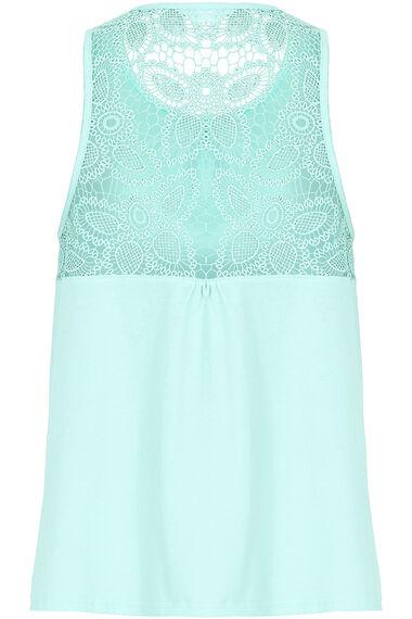 Lace and Spot Print Pyjamas