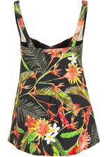 Tropical Print Swimdress