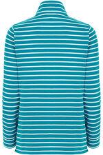 Stripe Funnel Neck Sweater