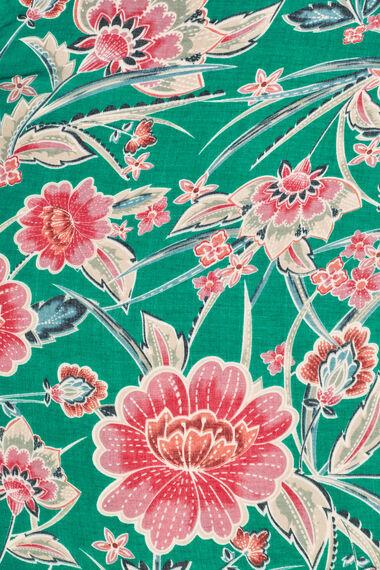 Bright Floral Printed Scarf