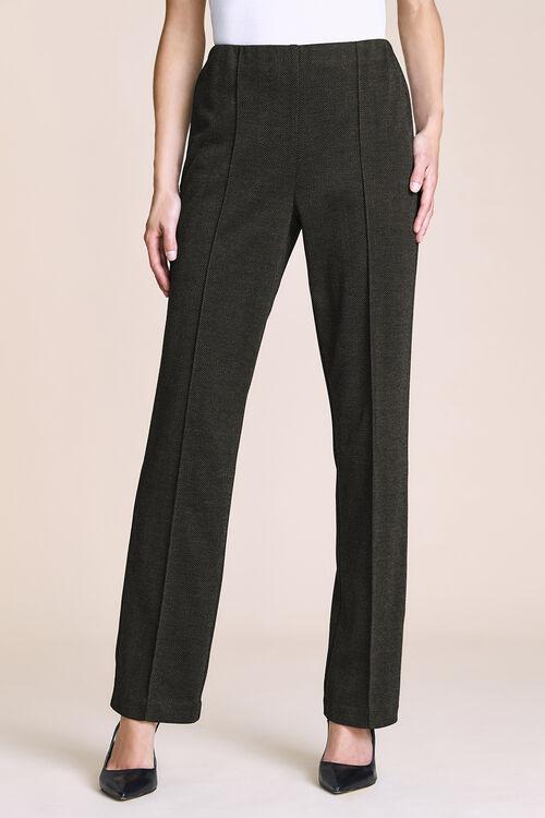 Textured Comfort Waist Trousers