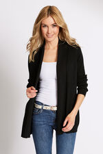 Smart Edge To Edge Cardigan With Pockets