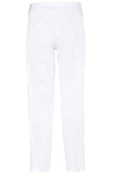 Plain Cotton Sateen Trousers