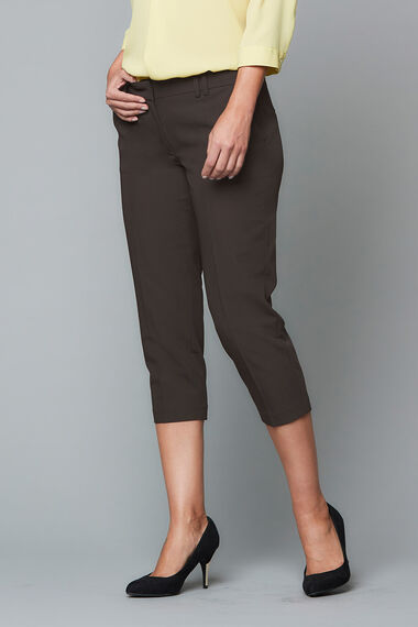 The Tailored Capri Trouser