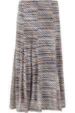 Stripe Burnout Skirt