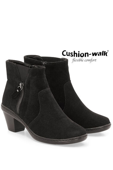 Cushion Walk Smart Suedette Ankle Boot