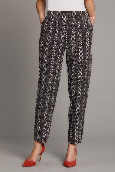 Aztec Printed Harem Trousers