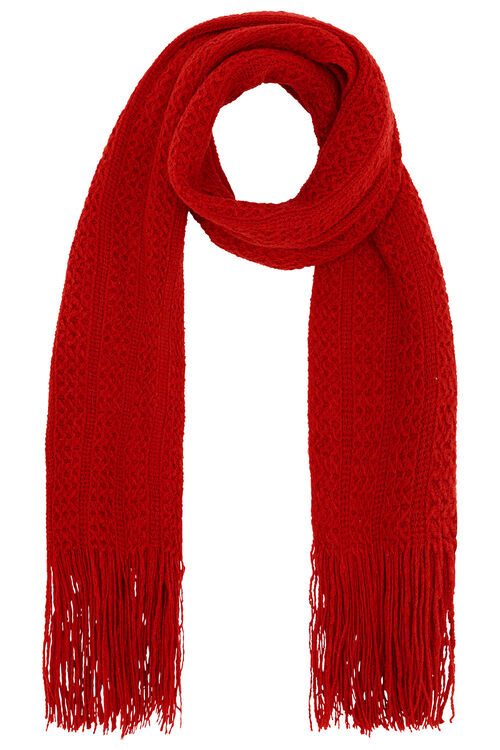 Soft Knitted Scarf