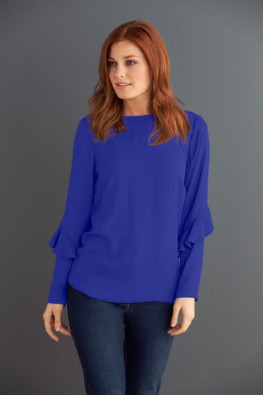 Frill Sleeve Detail Blouse
