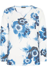 Oversized Floral Print T-Shirt