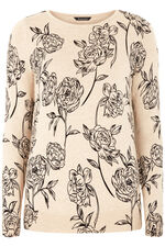 Rose Printed Jumper