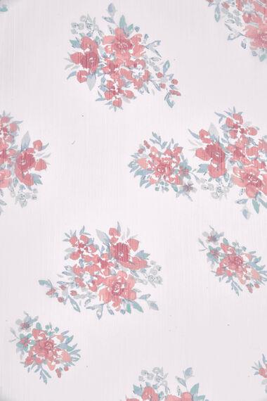 Floral Chiffon Scarf