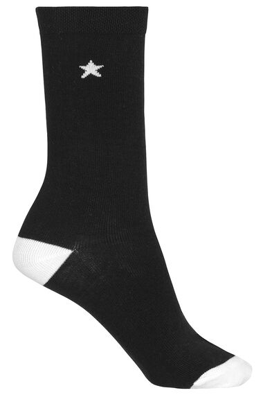 5 Pack Star Detail Socks