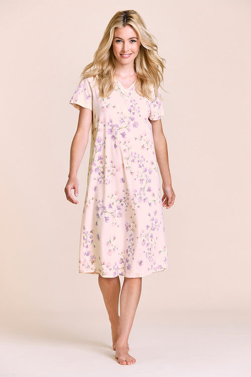 Trailing Floral Nightdress