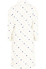 Gift Wrapped Multi Spot Print Dressing Gown