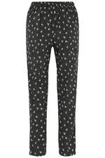 Spot Floral Harem Trousers