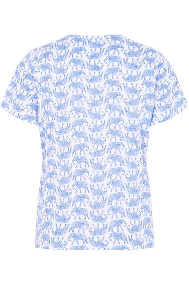 Elephant Print Gift Wrapped Pyjama Set