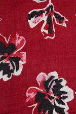 Japanese Floral Printed Scarf