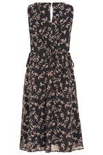 Signature Scroll Print Dress