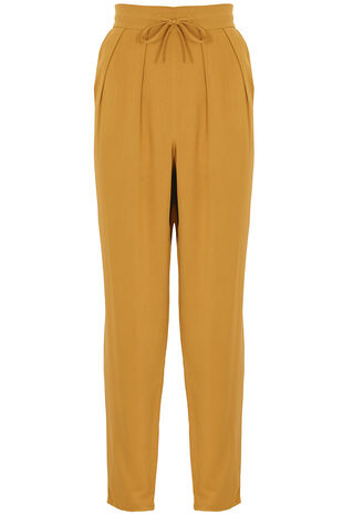 Ann Harvey Mustard Tapered Trousers
