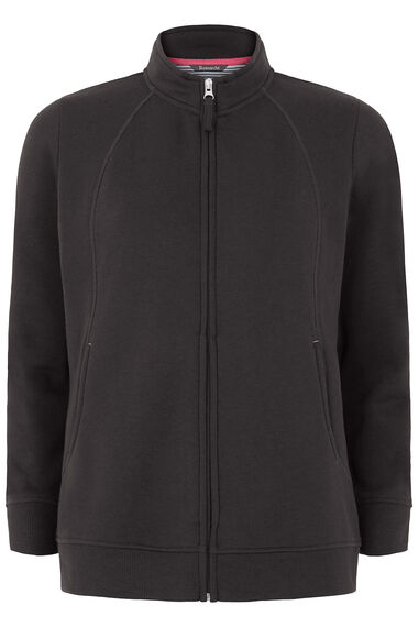 Funnel Neck Zip Thru Jacket