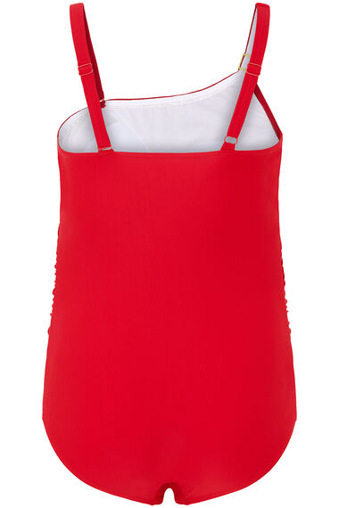 Asymmetric Swimsuit With Detachable Strap