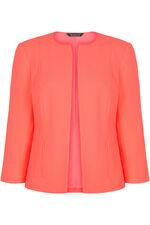Short Crepe Jacket