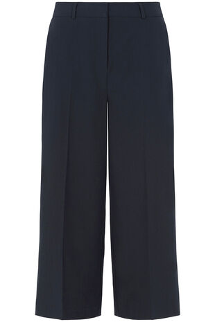 The Tailored Wide Leg Culotte