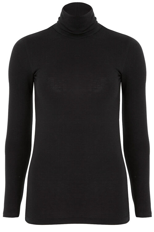 Thermal Polo Neck Top