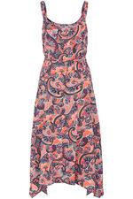 Paisley Hanky Hem Dress