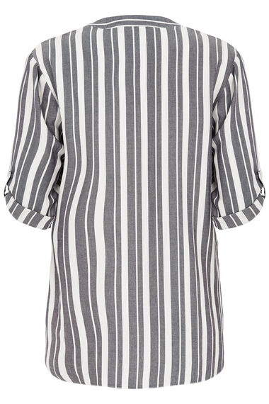 Longline Stripe Shirt