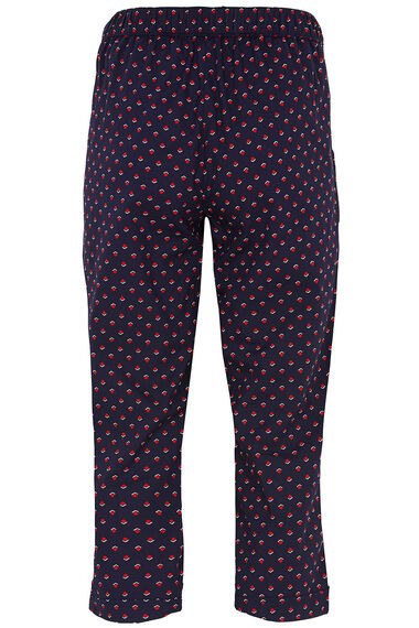 Spot Cotton Cropped Trousers