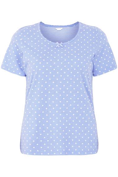 Stripe and Heart Pyjama Set