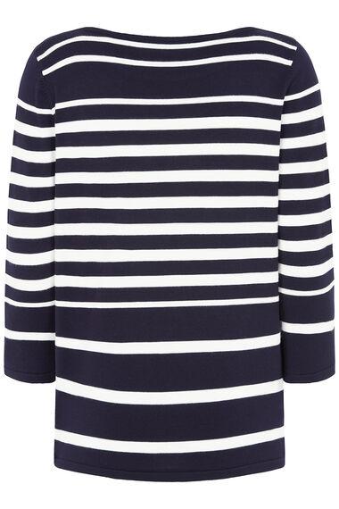 Stripe Jumper with Nautical Embellishment
