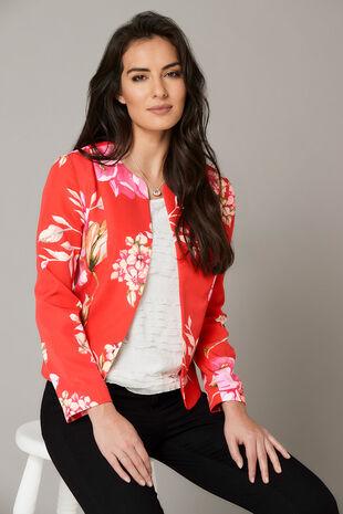 Printed Floral Jacket