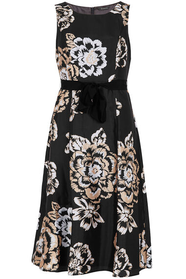 Fit and Flare Floral Dress