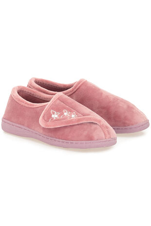 Butterfly Touch Fasten Slipper