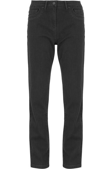 Embroidered Pocket Tummy Control Jean