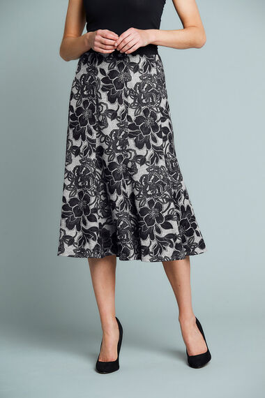 Soft Touch Floral Skirt